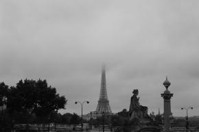 Parigi in bianco enero